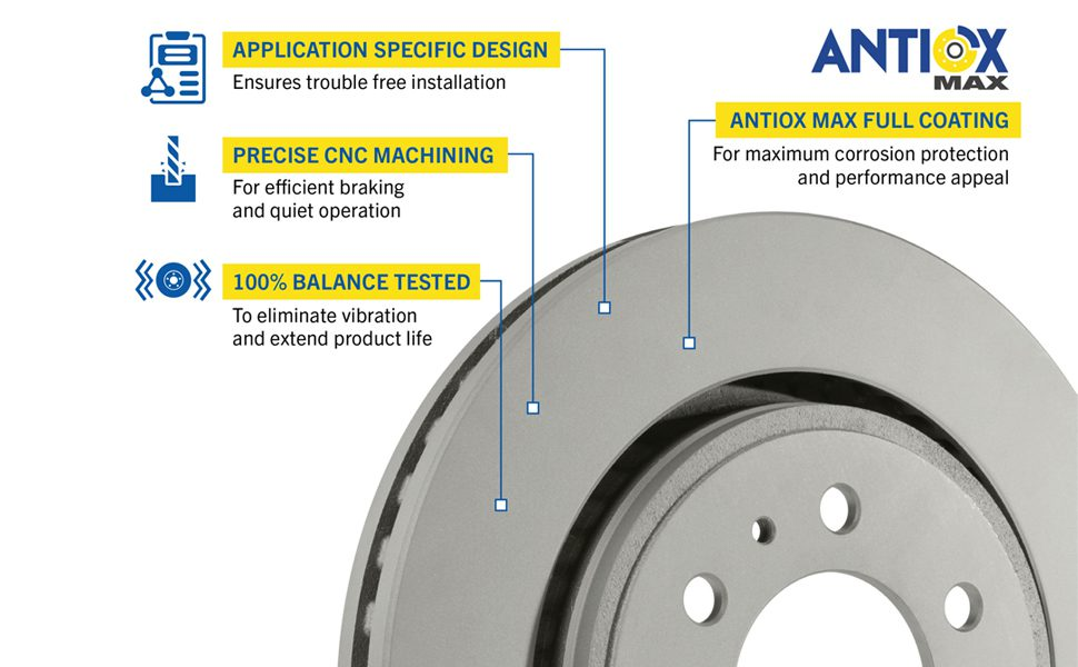 Goodyear Brakes Rotor Features