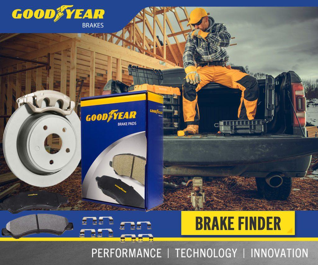 Goodyear Brake Kit Graphic