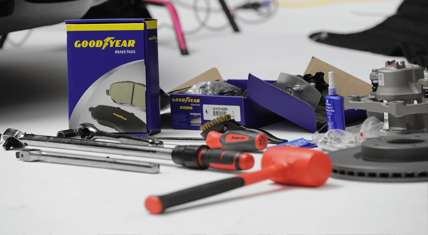 Goodyear Brakes Tools and Safety