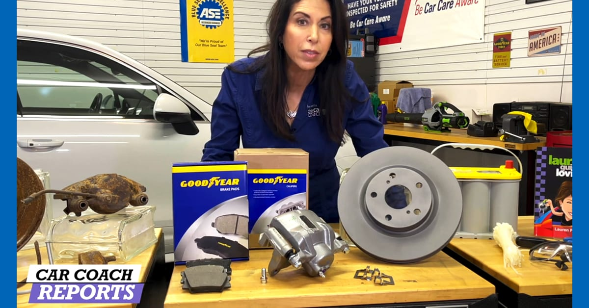 Lauren Fix and Goodyear Brakes