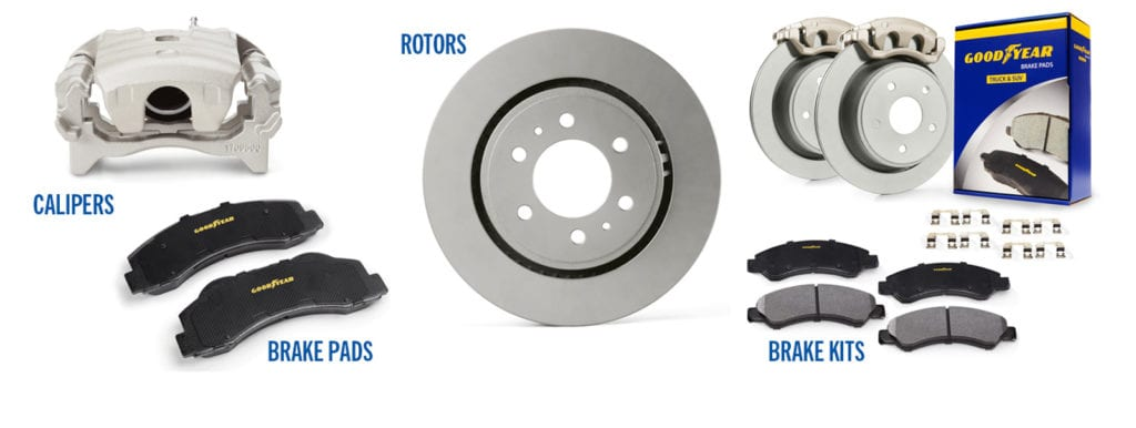 Goodyear Brakes Product Line